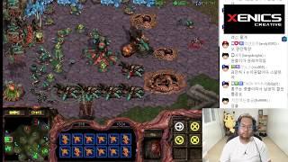 스타1 StarCraft Remastered 1:1 (FPVOD) Larva 임홍규 (Z) vs SnOw 장윤철 (P) Slyphid