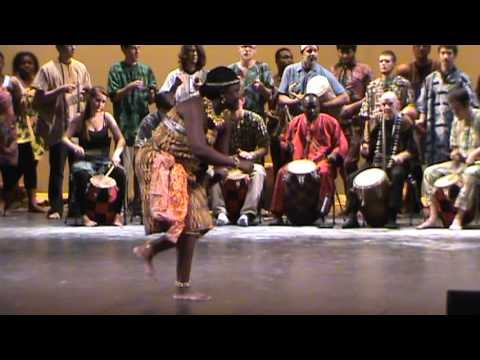 Asante Kete - UMass Dartmouth Kekeli West African Drum and Dance Ensmble
