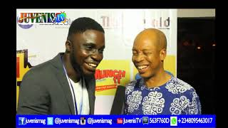 Nollywood Star, Hafiz Oyetoro (Saka) Boxes @'KNOCK OUT' Movie Premiere | Latest Nollywood Movie