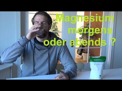 Um welche Uhrzeit Magnesium einnehmen Wann Magnesium morgens oder abends nehmen