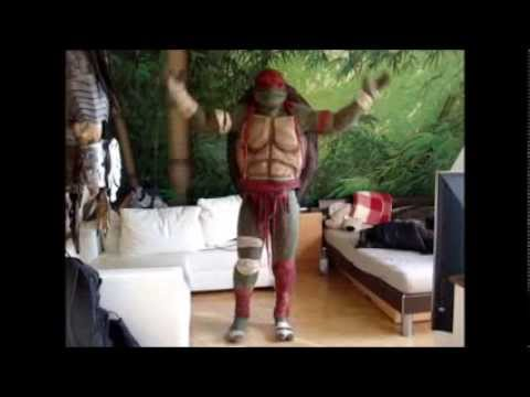 Rick´s teenage mutant ninja turtle costume 2014