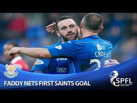 Watch legend McFadden score first Saints goal!