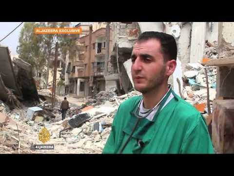 Fighting in northern Syria forces thousands to flee