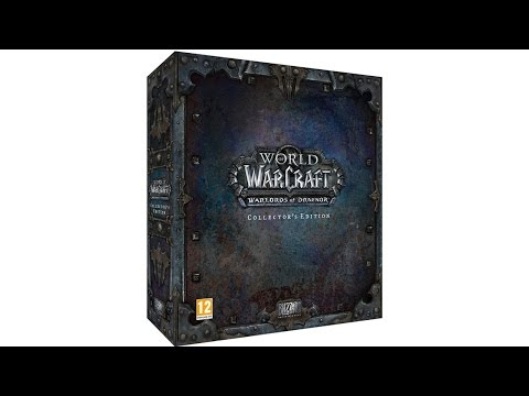 World of Warcraft: Warlords of Draenor Collector's Edition - Распаковка