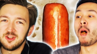 People Learn Gross Hot Dog Facts While Eating Them
