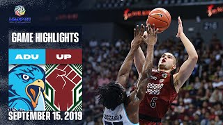 AdU vs. UP - September 15, 2019  | Game Highlights | UAAP 82 MB