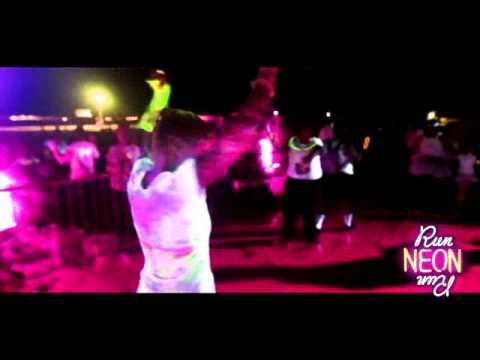 Glow Neon Run Run Neon Run 5k Neon Glow