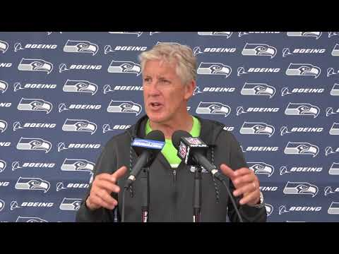 Seahawks Head Coach Pete Carroll Minicamp Day Three Press Conference