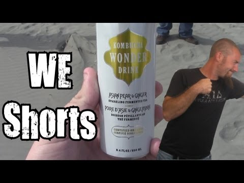 WE Shorts - Kombucha Wonder Drink Asian Pear & Ginger