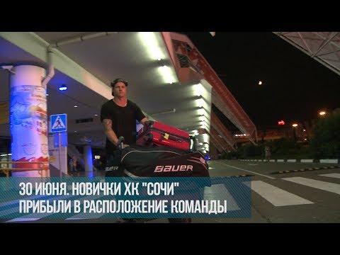 """Новички ХК """"Сочи"""": встреча в аэропорту"""