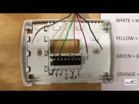 Ac Thermostat Wiring Diagram