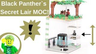 LEGO Black Panther`s Secret Lair MOC!