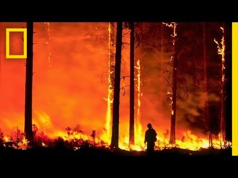 Firefighters Battle the Infernos of Climate Change