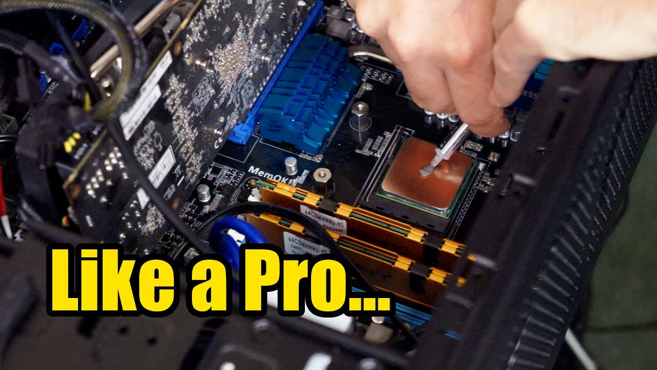 how to apply thermal paste like a pro