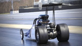 First Pass in a 9-Second Dragster! HOT ROD Unlimited Episode 33
