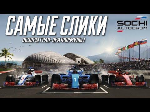 Формула 1 - Обзор трассы Сочиавтодром
