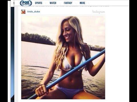 Lindsey Duke Blake Bortles Hot Girlfriend ReTweets N Word