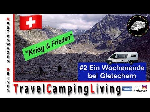 #2 Im Globecar Campscout B umgeben von Gletschern / Wanderung, Waffen, Drohnenflüge