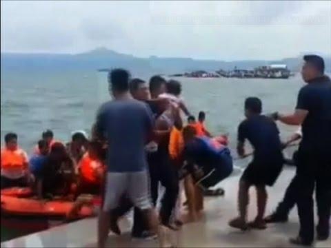 Raw: Dozens dead in Philippines Ferry Disaster