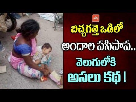 బిచ్చగత్తె ఒడిలో అందాల పసిపాప.. అసలు కథ ఇదే! Cute Baby with Beggar | News Goes Viral In Social Media