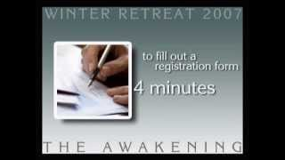 Winter Retreat Promo Video