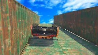 Video EXTREME UPSIDE DOWN RACE (GTA 5
