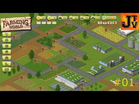 Let's Play Farming World #01 - Tutorial