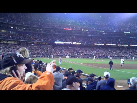 Matt Cain pitches perfect game