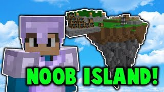 The start of noob island... (Oxius PvP Skyblock with no rank challenge)