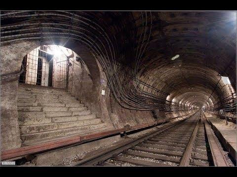 Подземелье Академгородка.