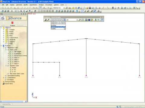 Displaying Steel analysis results in Advance Design