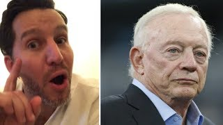Will Cain GOES OFF ON Dallas Cowboys, Jerry Jones, Jason Garrett After LOSS To Bears