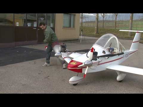 Cricri airplane in flight HD