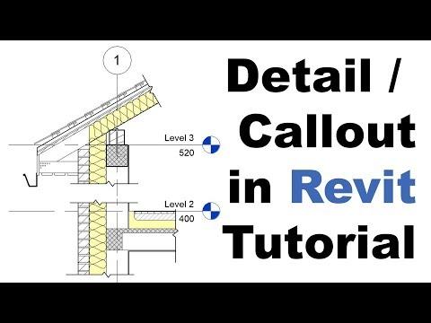 Detail / Callout in Revit Tutorial