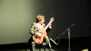 Celil Refik Kaya plays his sonatina in 2nd Istanbul International Guitar Festival.