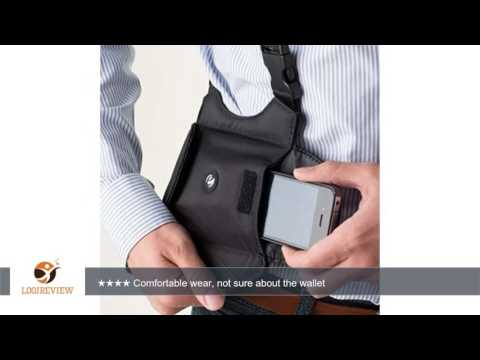 e-Holster Modular Shoulder Holster with Smartphone Pouch and Wallet   Review/Test