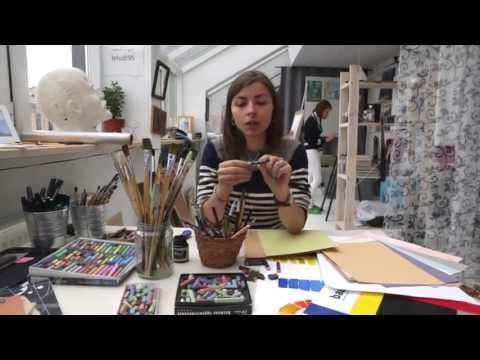 Уроки рисования от Art Metier. Выбор материала. Пастель. Уроки рисования и графики.