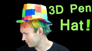 3D Pen Hat DIY! (Pluma 3d)