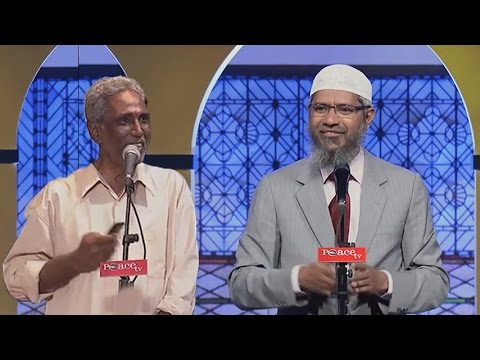 Dr. Zakir Naik Bercanda Dengan Pria Malaysia