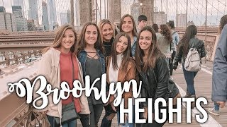 DAY IN MY LIFE// BROOKLYN HEIGHTS, NY!!