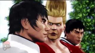 Tekken Tag Tournament 2 - Forest Law, Marshall Law, & Paul Ending Movies