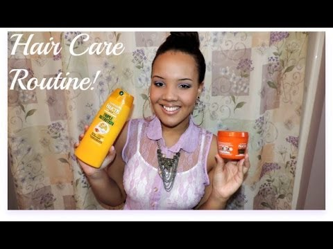 ♥My Hair Care Routine! Relaxed African American Hair Tips!♥