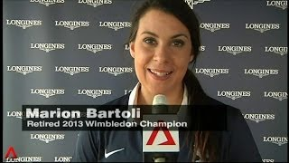 Fun tennis Q&A with Marion Bartoli and more