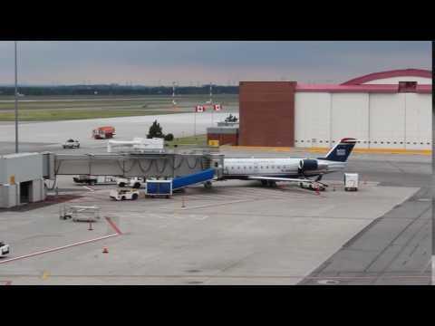 US Airways Express CRJ-200 at Ottawa International Airport (YOW)