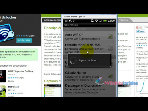 Wifi Unlocker:Audita claves de redes wifi desde tu android