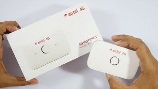 Airtel 4G Portable WiFi Hotspot Review