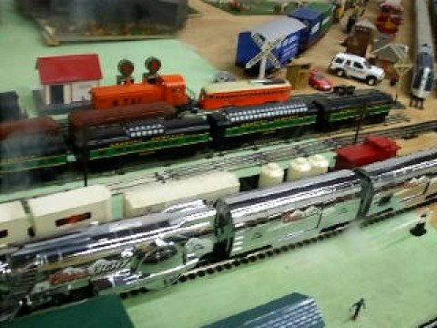 Here is another great video of the Coors Light Silver Bullet Train at The Western Reserve Model Railroad Museum.