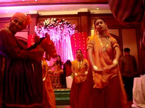 Ghoomar (rajasthani Folk) - Engagement Ceremony At Taj Lands Ends, Mumbai. video