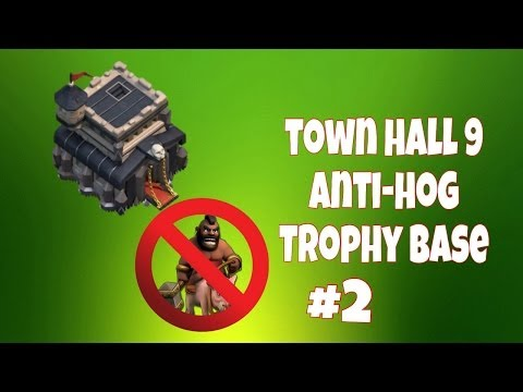 Clash of clans best town hall 9 trophy base phamilyshucks modified