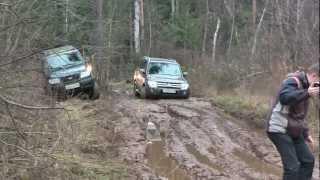 Mitsubishi Pajero в грязи! Тест-драйв без правил в РОЛЬФ Химки!